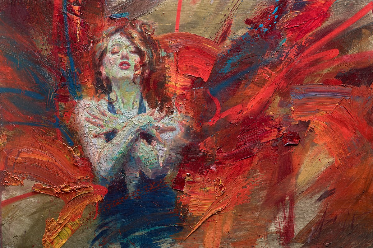 Exuberance of Chaos and Self-Reliance by henry asencio -  sized 36x24 inches. Available from Whitewall Galleries
